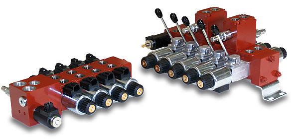 Válvulas direccionales modulares
